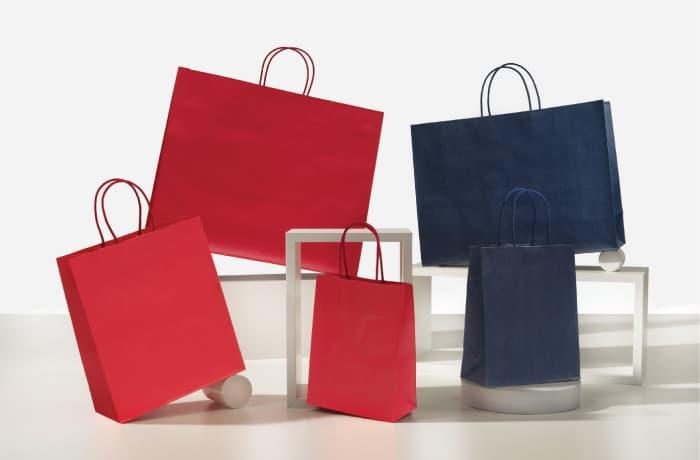shopper personalizzate j fold colorate maniglia cotone bordo risvoltato