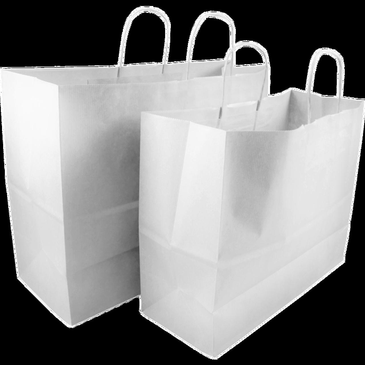 sacchetti personalizzati maniglia ritorta bianchi