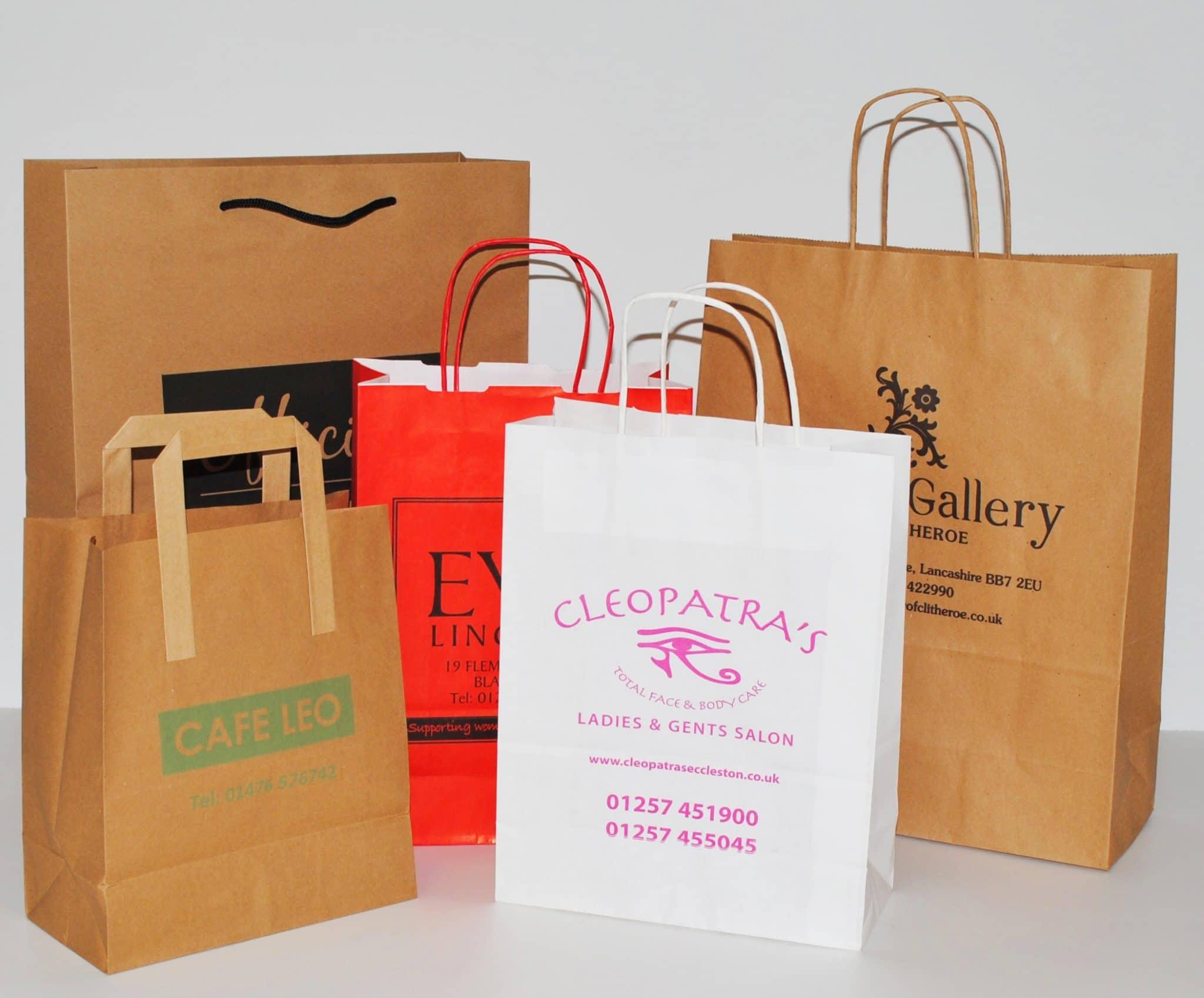 shopper personalizzate maniglia ritorta varie