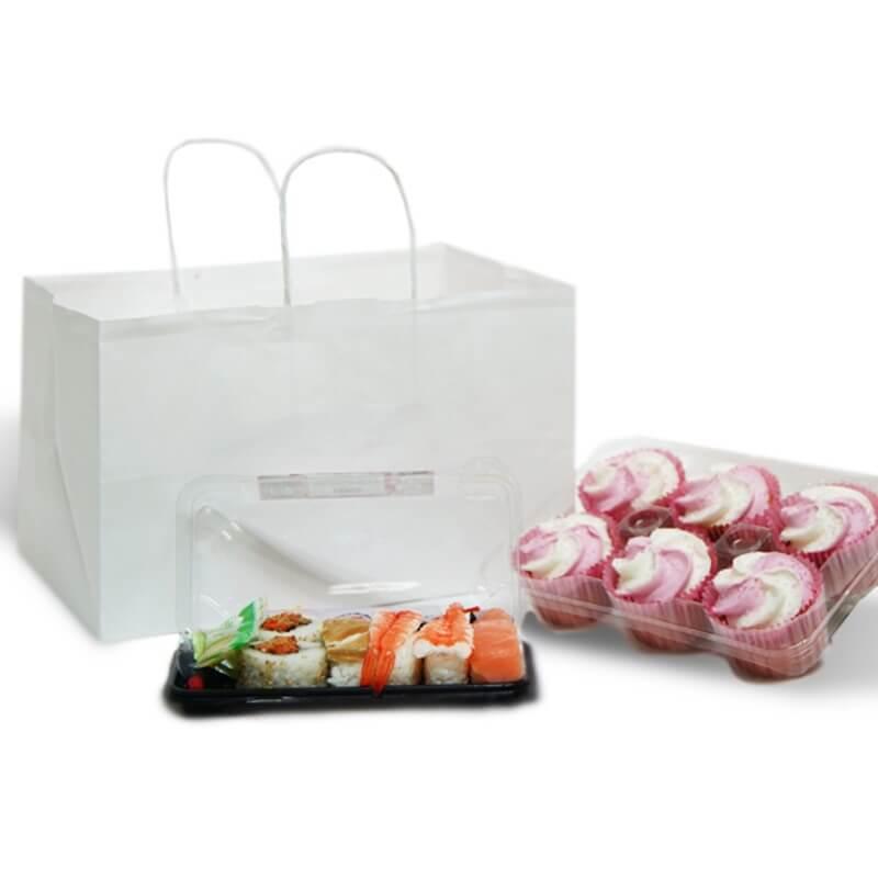 Buste personalizzate take away | Shoppers da asporto cibo