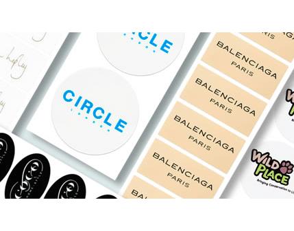 etichette adesive personalizzate chiudipacco
