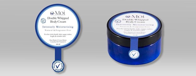 etichette adesive per barattoli cosmetici
