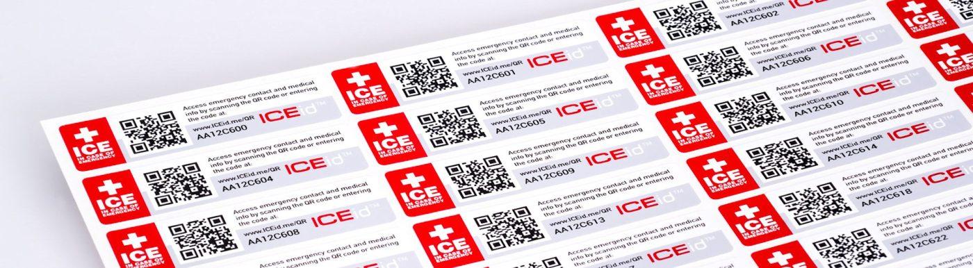 etichette adesive personalizzate di catalogazione